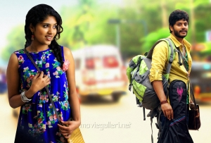 Samyukta Hornad, Tejus in Ulavacharu Biryani Movie Stills