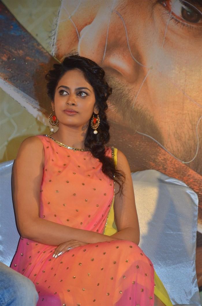 Actress Nandita Swetha @ Ulkuthu Movie Audio Launch Stills