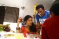Samyuktha Hornad, Prakash Raj @ Un Samayal Arayil Movie Working Stills