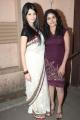 Actress Amrutha, Shalini at Unakku 20 Enakku 40 Movie Audio Launch Stills