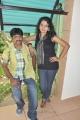 Akshay, Shalini at Unakku 20 Enakku 40 Movie Team Interview Stills