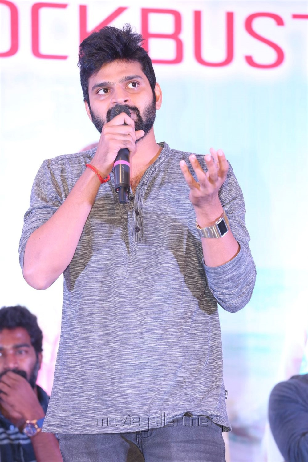 Actor Sree Vishnu @ Unnadi Okate Zindagi Movie Thanks Meet Stills
