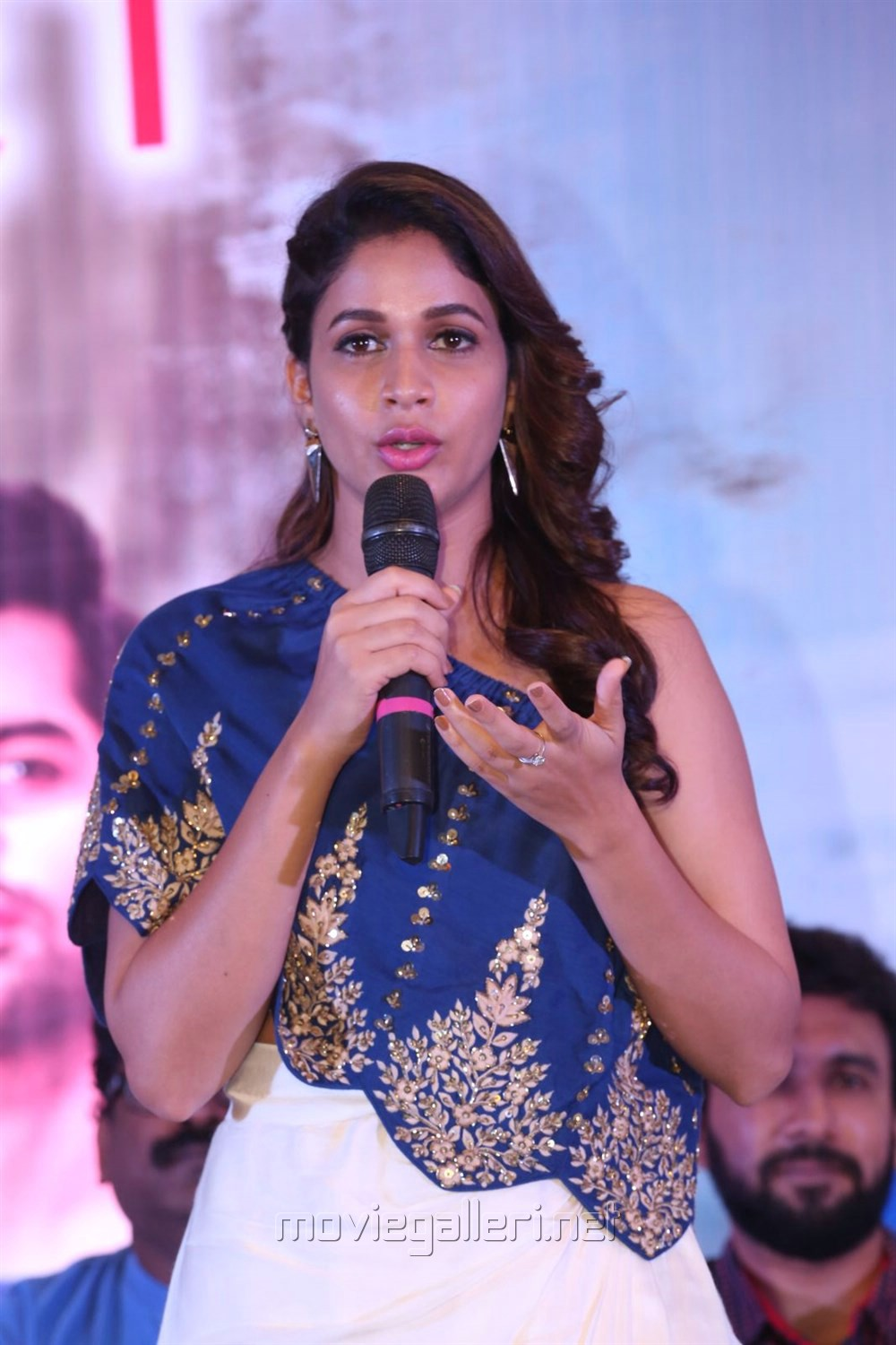 Lavanya Tripathi @ Unnadi Okate Zindagi Movie Thanks Meet Stills