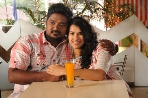 Bala Saravanan, Misha Ghoshal in Unnodu Ka Movie Stills