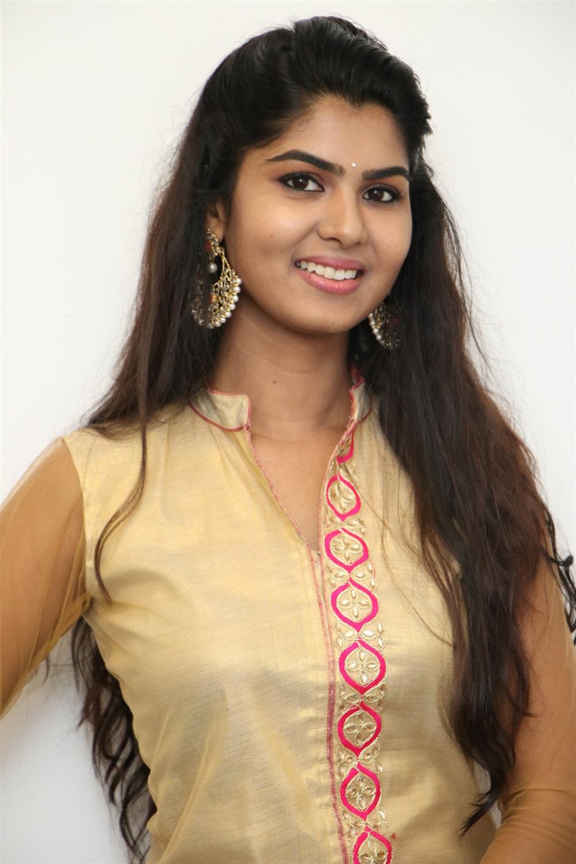 Actress Upasana Photos at Mouna Valai Movie Launch