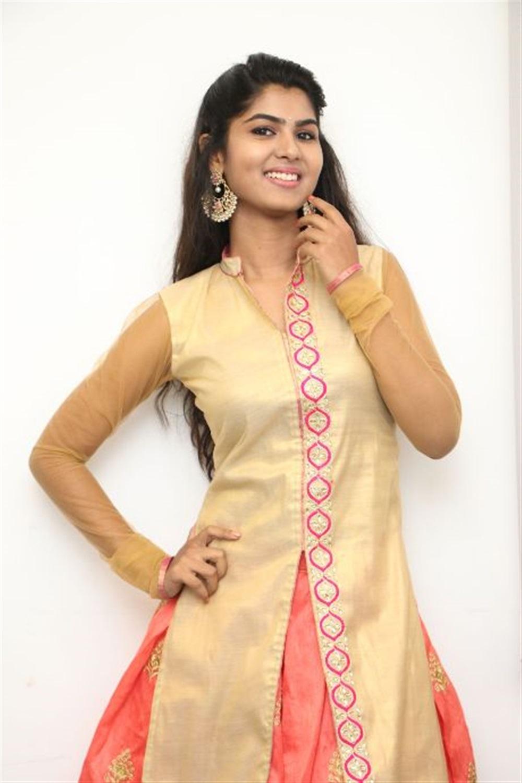Actress Upasana RC Photos at Mouna Valai Movie Launch