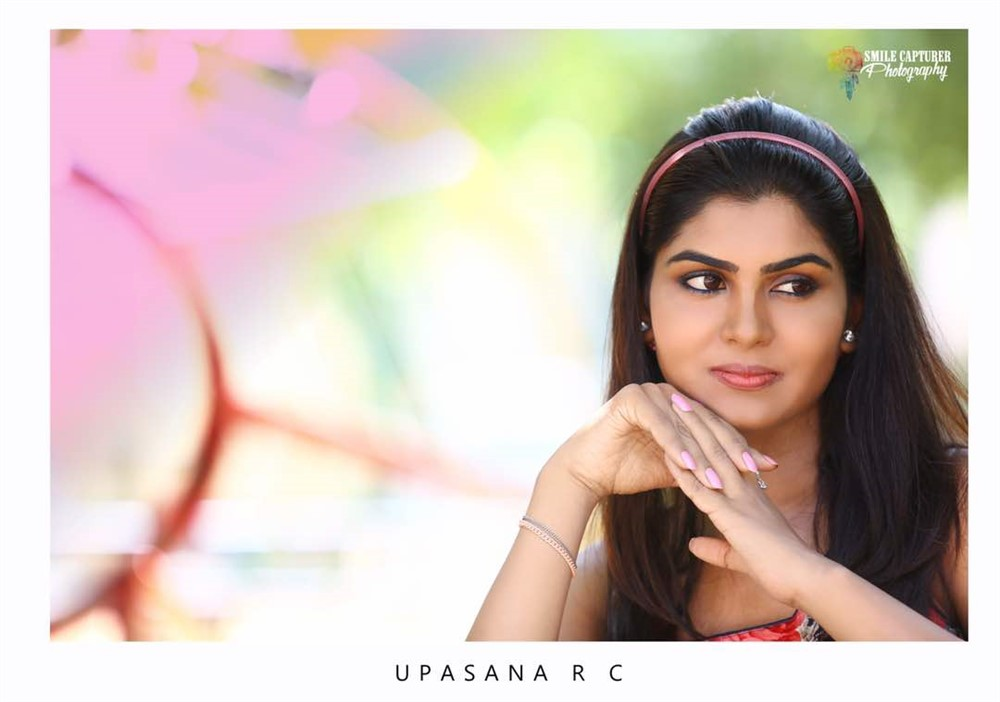 Actress Upasana RC Portfolio Images