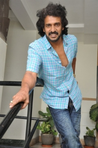 Kannada Actor Upendra Rao Press Meet Photos