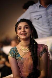 Krithi Shetty @ Uppena Blockbuster Celebrations @ Rajahmundry Photos