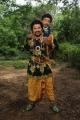 Tini Tom, Pakru in Uppu Puli Karam Movie Stills