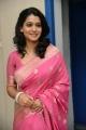 Beautiful Urmila posing in Pink Saree at Welcome Obama Success Meet