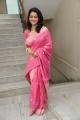 Telugu Actress Urmila in Pink Silk Saree Stills
