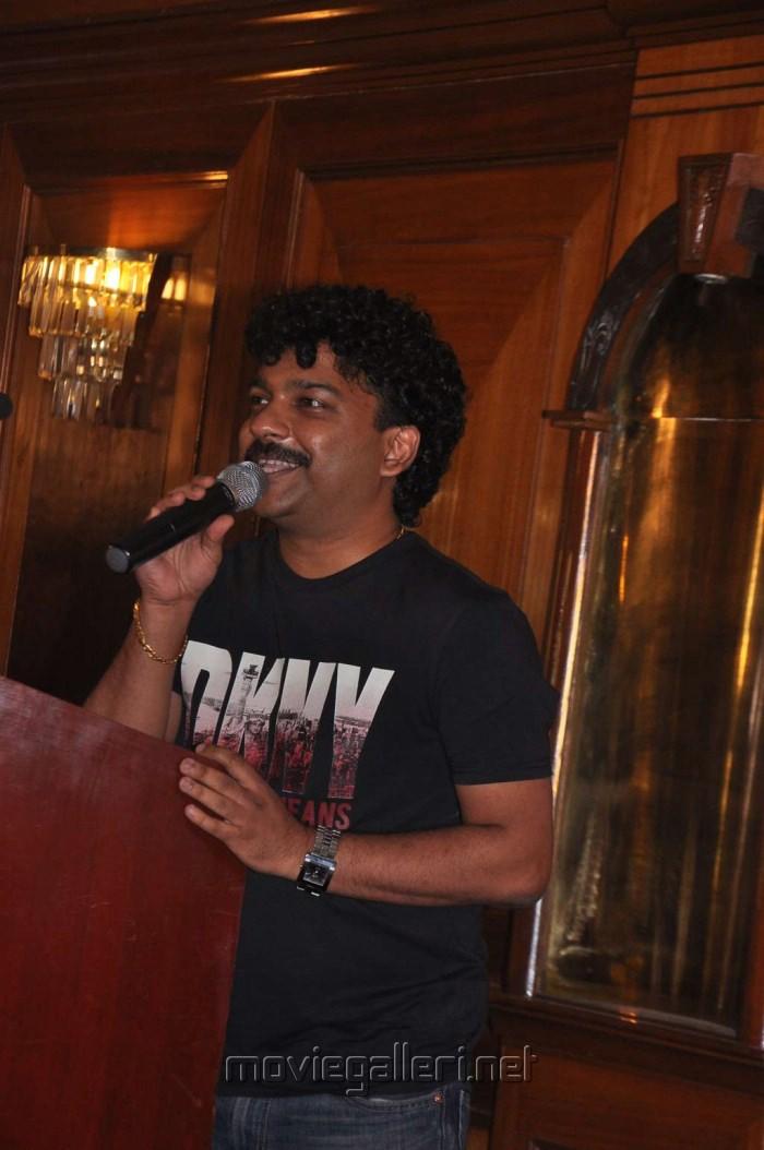 Music Director Deepak Dev at Urumi Movie Press Meet