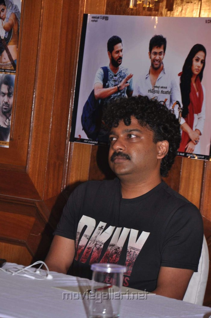 Deepak Dev at Urumi Press Meet Stills
