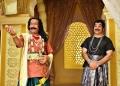 Nassar, Kamal Hassan in Uthama Villain Movie Photos