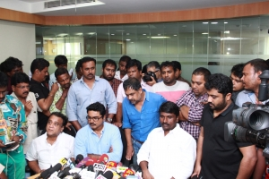 Uthama Villain Release Press Meet Stills