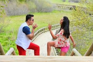 Kamal Hassan, Pooja Kumar in Uthama Villain Movie Stills
