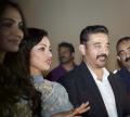 Pooja Kumar, Kamal @ Uttama Villain World Premiere in Dubai Photos
