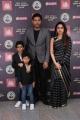 Aarav, Jayam Ravi, Aarthi @ V4 MGR Sivaji Cinema Awards 2019 Stills