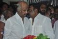 Rajini, Vijayakanth @ Lyricist Vaali Passed Away Photos