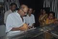 Muktha Srinivasan at Lyricist Vaali Passed Away Photos