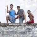 STR, Santhanam in Vaalu Movie Stills