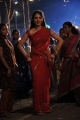 Vaanam Movie Anushka Hot Red Saree Photo Gallery