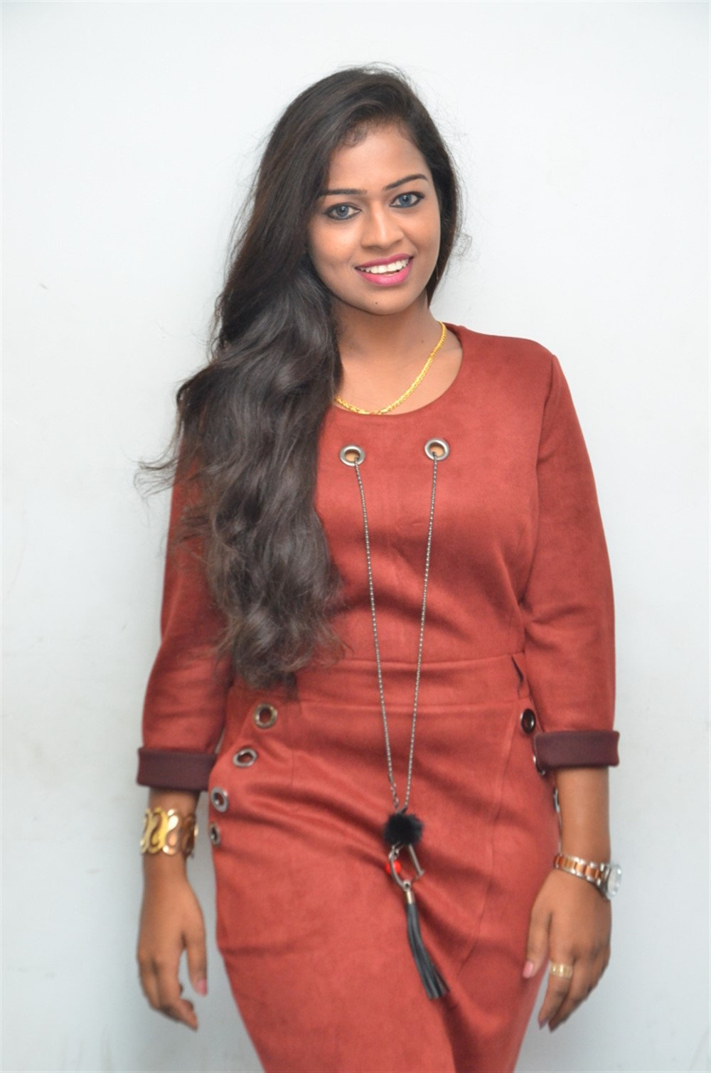 Actress Kamali @ Vaanga Padam Paarkalaam Audio Launch Stills