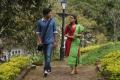 Dulquer Salman, Nazriya Nazim in Vaayai Moodi Pesavum Movie Stills