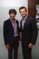 Dulquar Salman, Varun Manian @ Vaayai Moodi Pesavum Movie Press Meet Stills