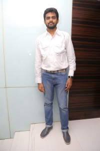 Director Balaji Mohan @ Vaayai Moodi Pesavum Movie Press Meet Stills