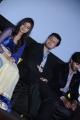 Dulquar Salman, Nazriya Nazim @ Vaayai Moodi Pesavum Movie Press Meet Stills