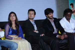 Nazriya Nazim, Varun Manian, Dulquar Salman @ Vaayai Moodi Pesavum Movie Press Meet Stills