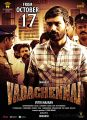 Dhanush Vada Chennai Movie Release Posters