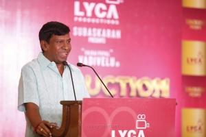 Actor Vadivelu @ Suraaj Lyca Production No 23 Movie Press Meet Stills