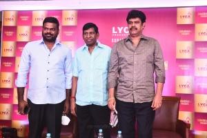 GKM Tamilkumaran, Vadivelu, Suraaj @ Lyca Production No 23 Movie Launch Stills