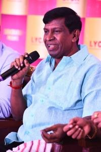 Actor Vadivelu @ Suraaj Lyca Production No 23 Movie Launch Stills