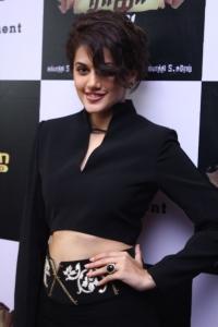 Actress Taapsee Pannu @ Vai Raja Vai Movie Audio Launch Stills
