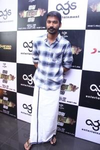 Actor Dhanush @ Vai Raja Vai Movie Audio Launch Stills
