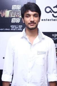 Gautham Karthi @ Vai Raja Vai Movie Audio Launch Stills