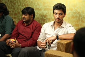 Sathish, Gautham Karthik in Vai Raja Vai Movie New Stills