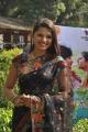 Tamil Actress Vaidehi Hot Stills in Transparent Black Saree
