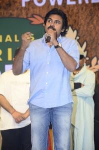 Pawan Kalyan @ Vakeel Saab Pre Release Event Stills
