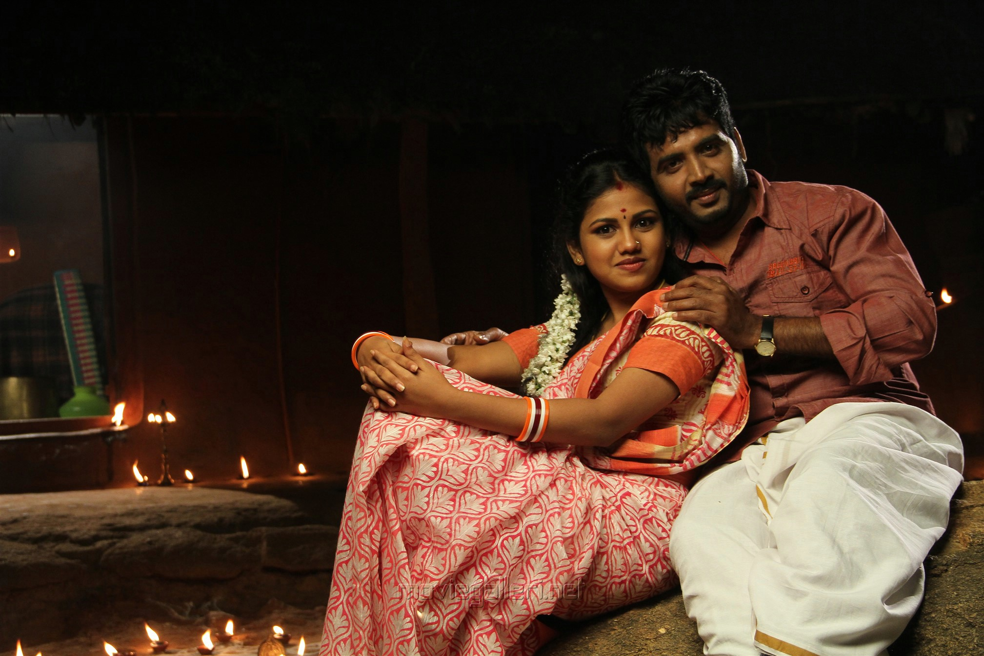 Manishajith, Vijay Karan in Vakiba Vannakili Bharathi Movie Stills