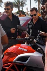 Ajith Kumar Valai Movie Shooting Spot Stills in Dubai