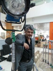 Actor Ajith Valai Movie Shooting Spot Stills in Dubai