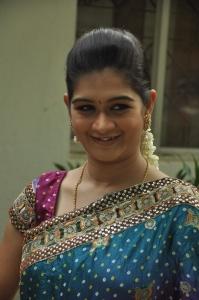 Anchor Monika @ Valiyudan Oru Kadhal Movie Audio Launch Stills