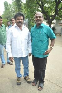 Jaguar Thangam, Vijayamurali @ Valiyudan Oru Kadhal Audio Launch Stills