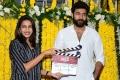 Niharika Konidela, Varun Tej @ Valmiki Movie Opening Stills