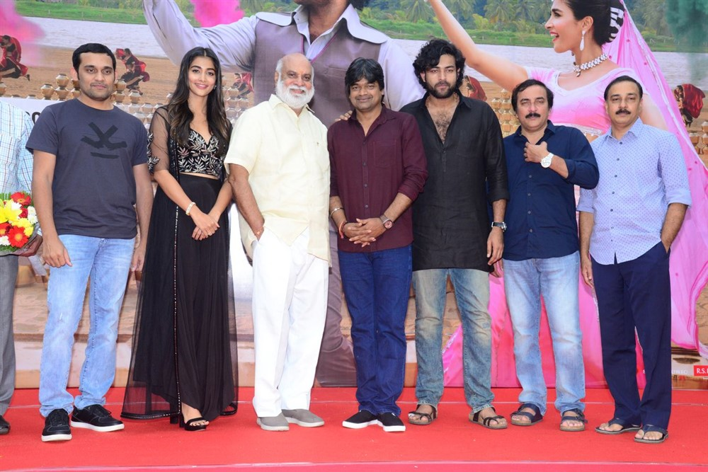 Valmiki Movie Velluvachi Godaramma Song Launch Stills